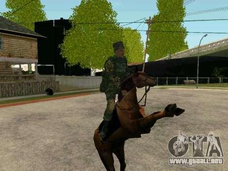 Los Cosacos De Kubán para GTA San Andreas octavo de pantalla