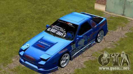 Mazda Rx-7 para la visión correcta GTA San Andreas