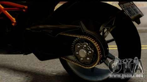 Ducati Diavel 2012 para visión interna GTA San Andreas