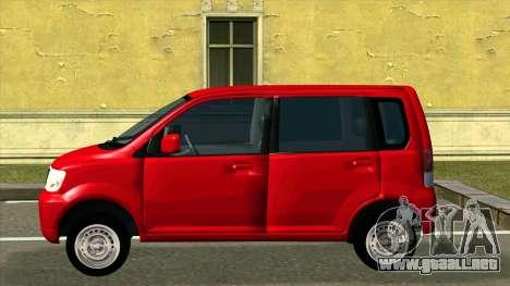 Mitsubishi eK Wagon para GTA San Andreas left