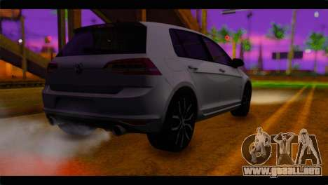 Volkswagen Golf 7 para GTA San Andreas left