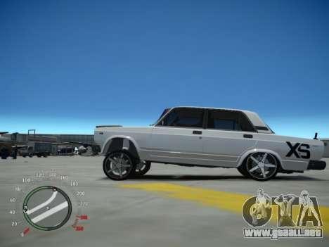 VAZ 2107 Aze para GTA 4 left