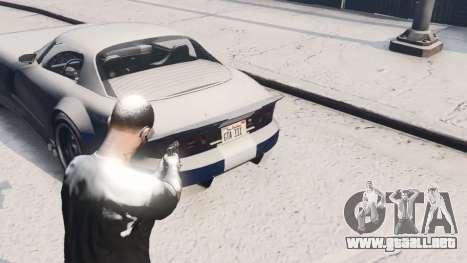 GTA 5 GTA V Online Snow Mod tercera captura de pantalla