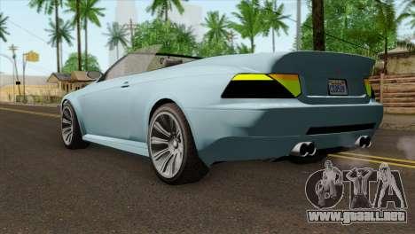 GTA 5 Ubermacht Zion XS Cabrio IVF para GTA San Andreas left