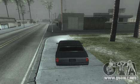 Beautiful ENB + Colormod 1.3 para GTA San Andreas octavo de pantalla