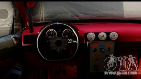Chevrolet Cobalt SS Mio Itasha para visión interna GTA San Andreas