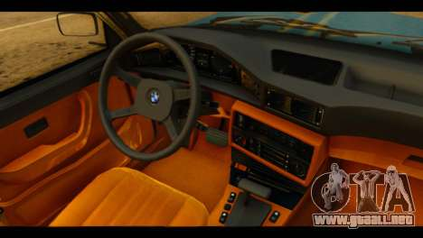 BMW 535is para la visión correcta GTA San Andreas