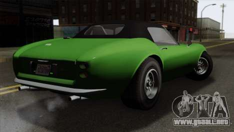 GTA 5 Grotti Stinger GT v2 para GTA San Andreas left