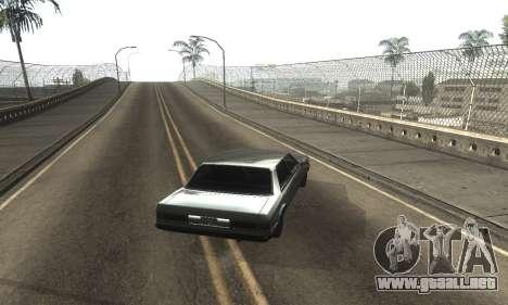 Beautiful ENB + Colormod 1.3 para GTA San Andreas segunda pantalla