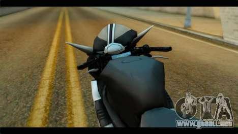 Honda CBR1000RR para la visión correcta GTA San Andreas