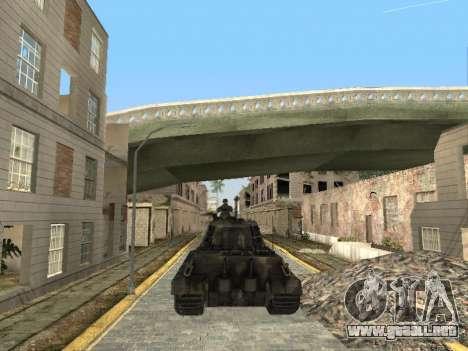 Panzerkampfwagen Tiger II para la vista superior GTA San Andreas