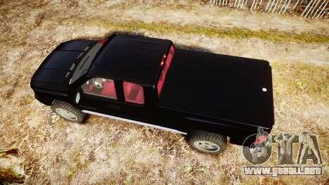 Chevrolet Silverado 1500 LT Extended Cab wheels3 para GTA 4 visión correcta