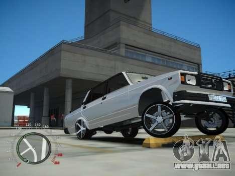 VAZ 2107 Aze para GTA 4 visión correcta