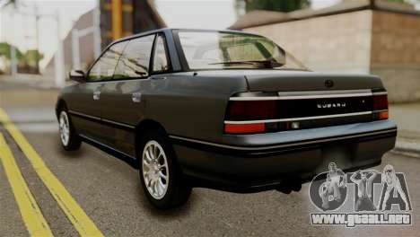 Subaru Legacy RS 1990 para GTA San Andreas left