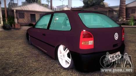 Volkswagen Gol GTI para GTA San Andreas left