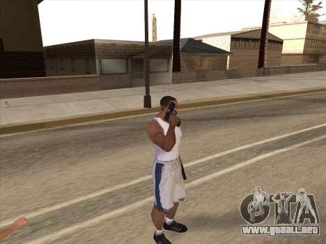 Gran ruso de armas de fuego para GTA San Andreas sucesivamente de pantalla