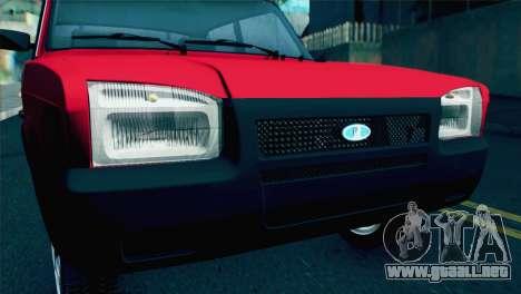 VAZ M para la visión correcta GTA San Andreas