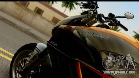 Ducati Diavel 2012 para la visión correcta GTA San Andreas
