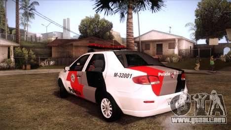 Fiat Siena 2011 para GTA San Andreas left
