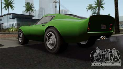 GTA 5 Grotti Stinger GT v2 SA Mobile para GTA San Andreas left