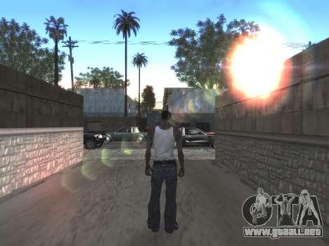 Final De Niza ColorMod para GTA San Andreas décimo de pantalla