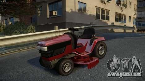 GTA V Lawn Mower para GTA 4