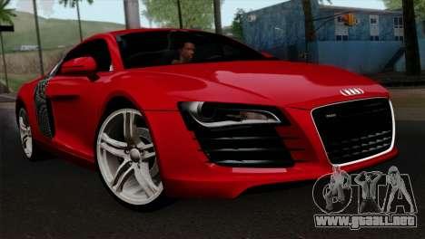 Audi R8 v2 para GTA San Andreas
