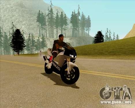 NRG-500 Winged Edition V.2 para GTA San Andreas