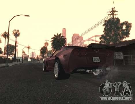 Final De Niza ColorMod para GTA San Andreas segunda pantalla