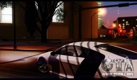 ENB J.F ProjeT 3.0 para GTA San Andreas sucesivamente de pantalla