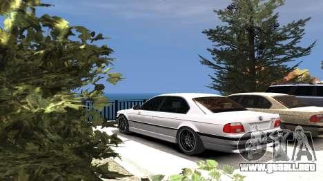 BMW 750i e38 1994 Final para GTA 4 ruedas