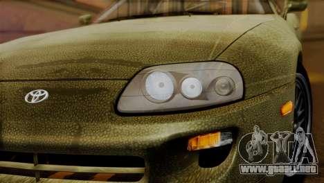Toyota Supra Turbo (JZA80) 1998 FF7 Edition para la visión correcta GTA San Andreas