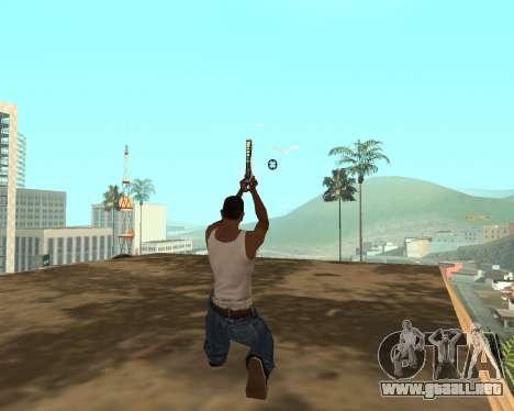 Green Pack Asiimov CS:GO para GTA San Andreas novena de pantalla