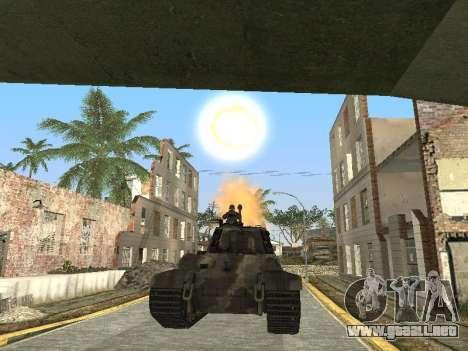 Panzerkampfwagen Tiger II para el motor de GTA San Andreas