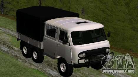 UAZ 39094 6X6 hunter Sueño para GTA San Andreas