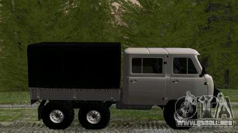 UAZ 39094 6X6 hunter Sueño para GTA San Andreas left
