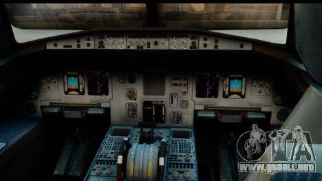 Airbus A320-200 OLT Express para la visión correcta GTA San Andreas