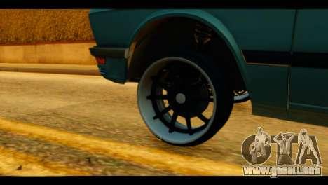 BMW 535is para GTA San Andreas vista posterior izquierda