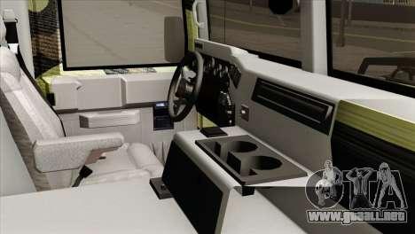 HMMWV M997 Ambulance para la visión correcta GTA San Andreas