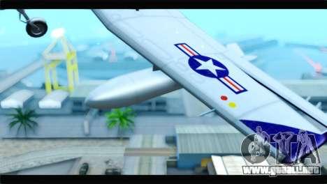 Beechcraft T-6 Texan II  United States Navy para la visión correcta GTA San Andreas