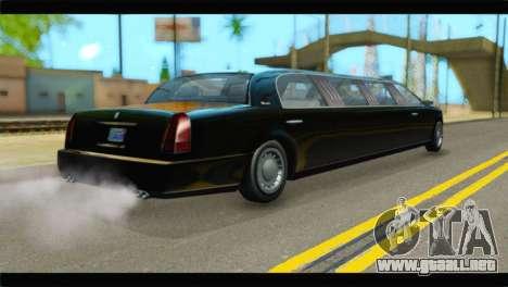 GTA 5 Dundreary Stretch IVF para GTA San Andreas left