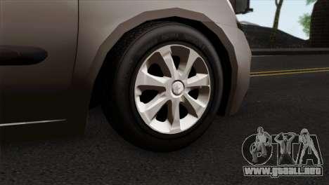 Renault Clio Mio 5P para GTA San Andreas vista posterior izquierda