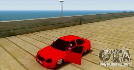 VAZ 2170 LA БПАN para la visión correcta GTA San Andreas