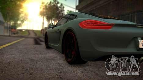 Pavanjit ENB v3 para GTA San Andreas sucesivamente de pantalla