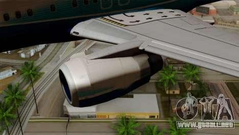 Boeing B737-800 Pilot Life Boeing Merge para la visión correcta GTA San Andreas