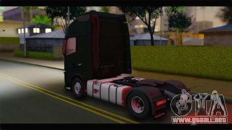 Volvo FH4 para GTA San Andreas left