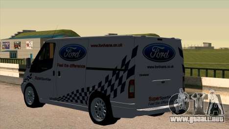 Ford Transit para GTA San Andreas vista posterior izquierda