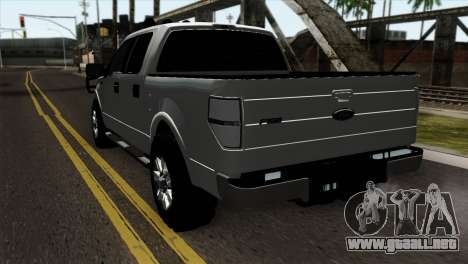 Ford F-150 4X4 Off Road para GTA San Andreas left