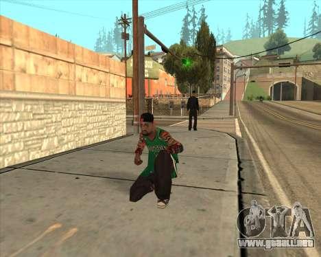 Grove HD para GTA San Andreas sucesivamente de pantalla