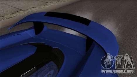 Gemballa Mirage GT v1 Windows Up para la visión correcta GTA San Andreas